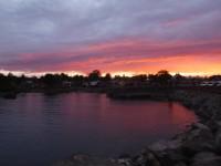 Juninattens fina färger.