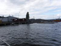 Sjömacken i Härnösand har mer eller mindre sjunkit.