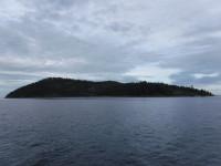 En av många öar.