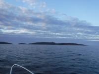 Moln och hav.