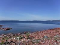 Utsikt ut mot havet från Norra Ulvön.