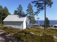Sandvikens kapell vid Sandvikens fiskeläge på norra delen av Norra Ulvön.