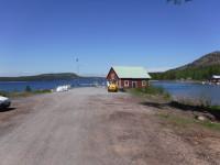 Hamnen vid Fjären på Norra Ulvön.