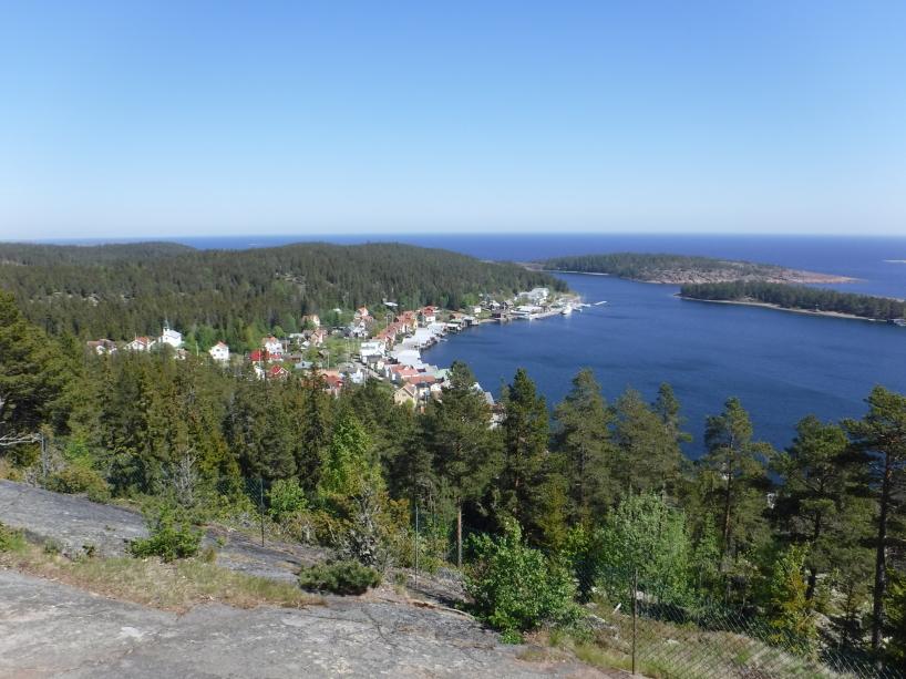 Utsikt över Ulvöhamn.