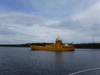 Bilfärjan Capella är en av de båtar som trafikerar Holmöleden.