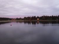 Byviken på Holmön.