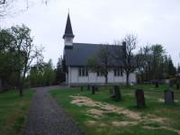 Kyrkan på Holmön.