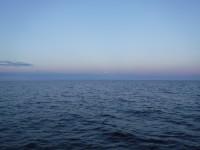 Ute på havet.