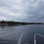 Jag närmar mig Pitsundsbron.