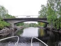 I Strömsundskanalen.