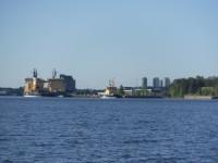 Isbrytare i Luleå.