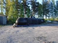 Miniubåten Spiggen i Töre.