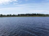 De sammanvuxna öarna Kataja och Inakari, där Sveriges östligaste punkt finns.