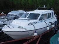 Så var det färdigåkt med båten för denna resa.