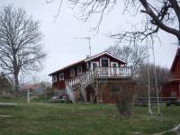 Ett uthus vid Snickargården.
