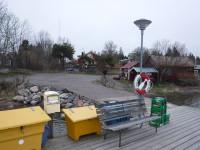 Hamnen vid Söderöra.
