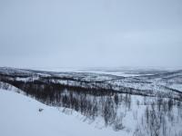Utsikt från Lappjordhytta.