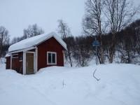 Pålnostugan vid Pålnoviken.
