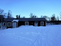 Gamla Storulvån, ligger en liten bit från Storulvåns nya fjällstation.