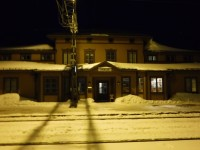 Järnvägsstationen i Storlien.