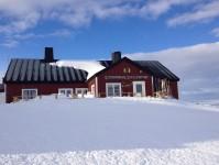 Blåhammarens fjällstation, som är Svenska Turistföreningens högst belägna fjällstation.