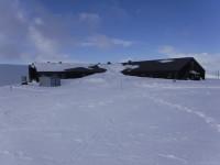 Mycket snö vid Sylarnas fjällstation.