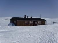 Fjällstugan Storrödtjärn är den enda av Svenska Turistföreningens fjällstugor som ligger i Dalarnas län.