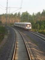 Längst bak i nattåget stod jag och fotade en X2a som körde om oss mellan Uppsala och Gävle, då vi var på väg till Kebnekaise med scouterna, drygt två år senare fick jag själv testa att köra X2000 här.