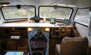 Min gamla båt var mysigare inuti, än vad dess motor var tillförlitlig.