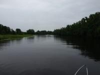 Längs Strömsholms kanal under en lördagsförmiddag i juli.