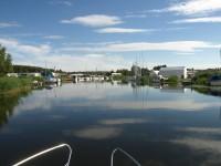 Båtar i Torshällaån.