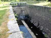 Sluss i Torshälla kanal.
