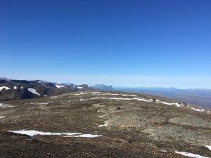 Utsikt från Låktatjåkka.