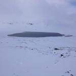 Isen har dock inte lagt sig på detta vatten ännu.