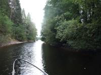 Mellan Töcksfors och Östervallskog.