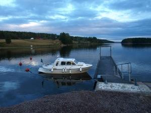Gästhamnen i Signebyn.