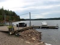 Gästhamnen i Sillebotten.