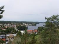 Utsikt från Majberget i Bengtsfors.