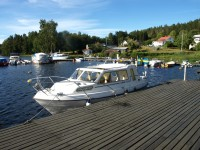 Gästhamnen i Långbron.