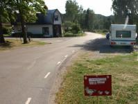 Ett övergångsställe för änder i Långbron.