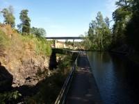 Akvedukten i Håverud lockar många besökare till platsen.