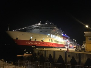 MS Finnmarken i Rørvik.