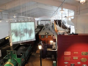 Norsk Jernbanemuseum i Hamar.