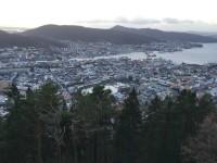 Utsikt över Bergen.