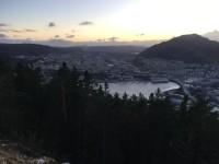 Decembereftermiddag i Bergen.
