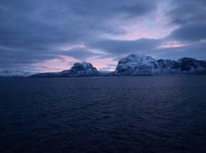Utsikten från MS Vesterålen är magnifik.