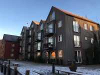 Fler hus i Trondheim.