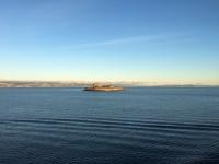 Munkholmen ligger utanför Trondheim.