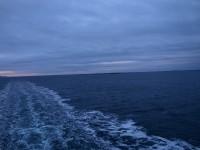 Ett mörkt hav.