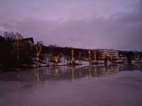 På promenad i Finnsnes.